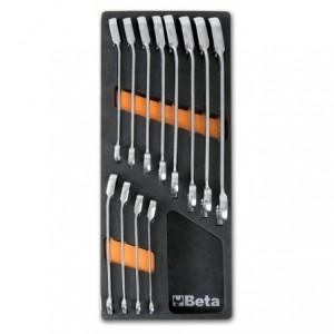 Wkład profilowany miękki z zestawem 12 kluczy 142 8-19mm Beta 2450/M45
