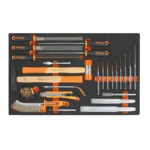 Wkład profilowany miękki z zestawem 25 narzędzi Beta 2450/M230