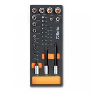 Wkład profilowany miękki do zestawu narzędzi 2450/m112 pusty Beta 2451/MV112