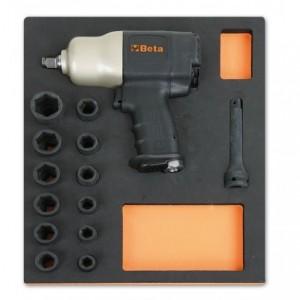 Wkład profilowany miękki do zestawu narzędzi 2450/m310 pusty Beta 2451/MV310