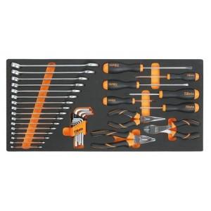 Wkład profilowany miękki z zestawem 34 narzędzi Beta 2750/MC10
