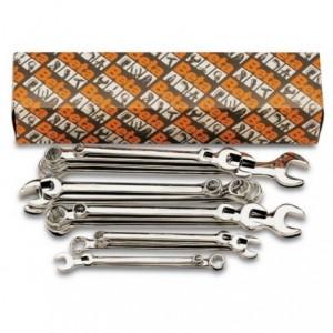 Komplet kluczy płasko-oczkowych długich 42lmp 8-32 mm 18 sztuk w kartonie Beta 42LMP/S18