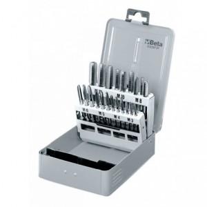 Pudełko metalowe do kompletu gwintowników ręcznych 430/sp21 puste Beta 430/SPV
