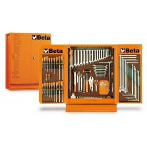 Szafka narzędziowa wisząca 5400/c54 z zestawem elementów mocujących narzędzia vi pusta...
