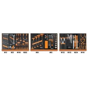 Zestaw 91 narzędzi we wkładach profilowanych miękkich do ogólnego użytku Beta 5904VU/1M