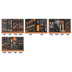 Zestaw 152 narzędzi we wkładach profilowanych miękkich do ogólnego użytku Beta 5904VU/2M