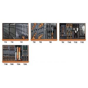 Zestaw 146 narzędzi we wkładach profilowanych twardych do ogólnego użytku Beta 5904VU/3T