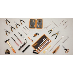 Zestaw 57 narzędzi do użytku w elektrotechnice Beta 5980EL/A