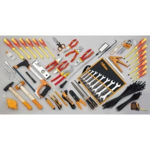 Zestaw 64 narzędzi do użytku w elektrotechnice Beta 5980ET/B