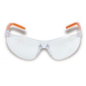 Okulary ochronne easy z bezbarwnymi soczewkami z poliwęglanu Beta 7061TC