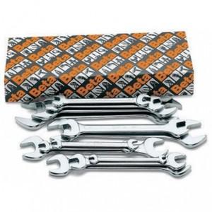 Komplet kluczy płaskich dwustronnych 55 6-32mm 12 sztuk w kartonie Beta 55/S12X