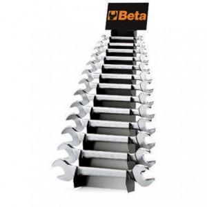 Komplet kluczy płaskich dwustronnych 55 6-32mm 13 sztuk na stojaku metalowym Beta 55/SP13