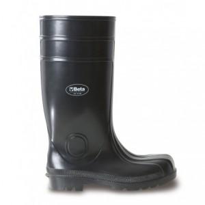 Buty robocze wysokie czarne pcw/guma r45 Beta 7328EN/45