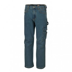 Spodnie z dżinsu ze streczem 7525 xxxl Beta 075250058