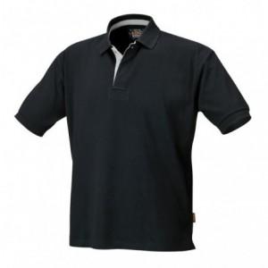Koszulka polo bawełniana 220 g/m2 kolor czarny Beta 7546N rozmiar L