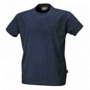 Koszulka t-shirt bawełna granatowy 7548bl m Beta 075480002