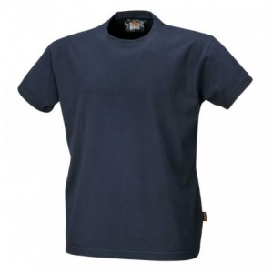 Koszulka t-shirt bawełna granatowy 7548bl l Beta 075480003