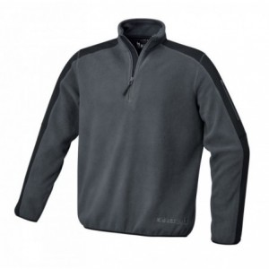 Bluza polarowa grafitowo-czarna 7632g s Beta 076320001