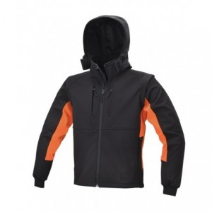 Kurtka softshell z kapt.7683 l Beta 076830003