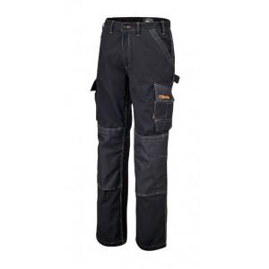 Spodnie robocze z kieszen.czarne 7815n l Beta 078150003