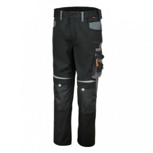 Spodnie robocze z kiesz.czar-szar.7820 l Beta 078200003