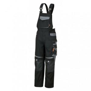 Spodnie robocze na szel.czar-szar.7823 xxxxl Beta 078230007
