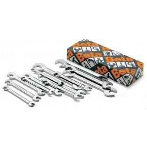 """Komplet kluczy płaskich dwustronnych """"mini"""" 73 4-14mm 13 sztuk w kartonie Beta 73/S13"""