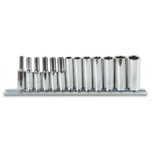 Komplet nasadek 900l 4-14mm 13 sztuk na szynie metalowej Beta 900L/SB13