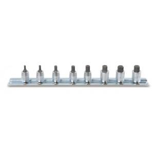 Komplet nasadek 900me 2,5-10mm 8 sztuk na szynie metalowej Beta 900ME/SB8