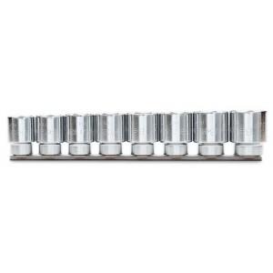 Komplet nasadek 920a 23-32mm 8 sztuk na szynie metalowej Beta 920A/SB8