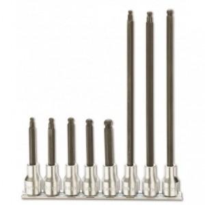 Komplet nasadek 920bp 5l-8xl 8 sztuk na szynie metalowej Beta 920BP/SB8