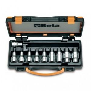 Komplet nasadek 920pe 4-19mm 10 sztuk w pudełku metalowym Beta 920PE/C10