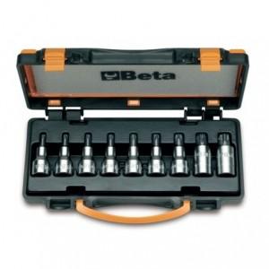 Komplet nasadek 920tx t20-t60 9 sztuk w pudełku metalowym Beta 920TX/C9