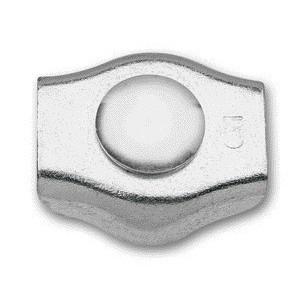 Zacisk linowy siodełk.pojedyn.ocynk.4mm Beta 8317SZ/4