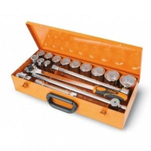 Zestaw nasadek 928/a z akcesoriami 22-55mm 17 elementów w pudełku metalowym Beta 928A/C12