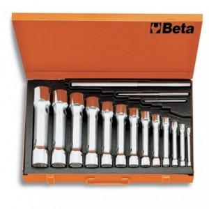 Komplet kluczy rurowych dwustronnych 930 6-32mm 13 sztuk w pudełku metalowym Beta 930/C13