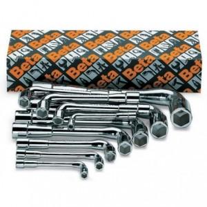 Komplet kluczy kątowych dwustronnych 933 6-22mm 17 sztuk w kartonie Beta 933/S17