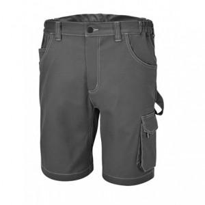 Spodnie robocze krótkie strecz szare 7831st l Beta 078310003