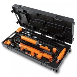 Pompa hydrauliczna 10t z zestawem końcówek roboczych do napraw nadwozia 13 elementów w...