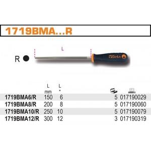 """Pilnik półgładzik z rękojścią 12""""-300mm Beta 1719BMA12/R"""