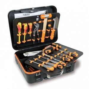 Walizka narzędziowa (2032/tv) z zestawem 60 narzędzi dla elektrotechników (5980et/a)...