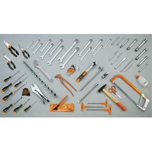 Torba narzędziowa (2107/c7) z zestawem 75 narzędzi (5915vu/3) Beta 2107VU/3