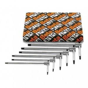 Komplet kluczy trzpieniowych sześciokątnych typu t 951 2-6mm 8 sztuk w kartonie Beta...