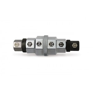 Klucz trzpienowy wielostopniowy do osi koła 12-14-17-19-22-24mm Beta 3075/CM