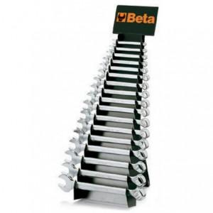 Komplet kluczy płasko-oczkowych 42 6-32 mm 25 sztuk w stojaku metalowym Beta 42/SP25
