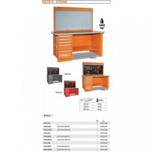 Stół warsztatowy 5700c/57sd z tablicą narzędziową 5700/c57p pusty Beta 5700/C57SAO...