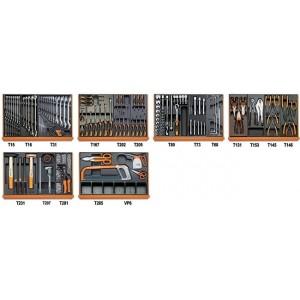Zestaw 142 narzędzi we wkładach profilowanych twardych do użytku w przemyśle Beta...