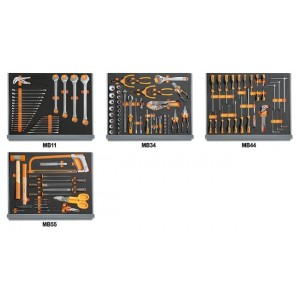 Zestaw 133 narzędzi do użytku przemysł. Beta 5935VI/2MB