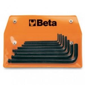 """Komplet kluczy trzpieniowych kątowych sześciokątnych calowych 96bp 3/32""""- 3/8 8 sztuk w..."""