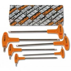 Komplet kluczy trzpieniowych kątowych sześciokątnych 96tbp 2,5-8mm 6 sztuk w kartonie...